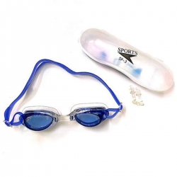 Littledesire Anti Fog Goggle Swimming Sunglasses With Ear Plug and Case