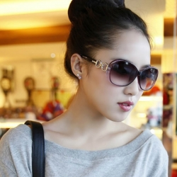 Vintage and Stylish Big Frame Sunglasses