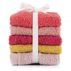 5 pcs Soft Cotton 450 GSM Face Towel