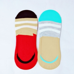 Unisex Loafer Cotton Men Women Socks  - 2Pairs