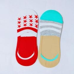 Unisex Loafer Cotton Men Women Socks - 2Pairs