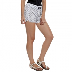 Littledesire Printed Cotton Shorts