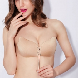 Silicone Gel Invisible Bra Self-Adhesive Stick On Push up Strapless