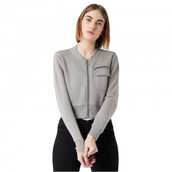 Soulful Vibes Zip Jacket for Women