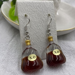 Creative XO Bottle Dangle Earrings