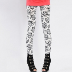 Women Printed Skinny Leggings