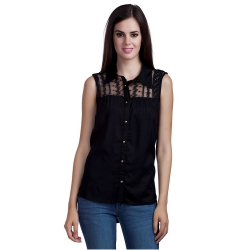 Littledesire Lace Viscose Plain Top