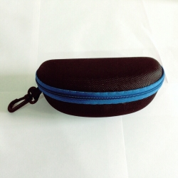 Blue Zipper Sunglasses Case Cover
