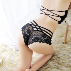 Sexy Lingerie Transparent Lace Panty