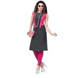 Littledesire New Designer  Daily Wear Printed Cotton Kurta