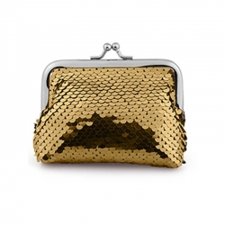 Littledesire Sequins Handy Clutch Mini Wallet - 4.5 inch