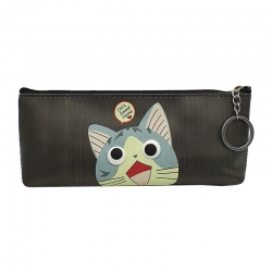 Printed Cartoon waterproof Pouch Bag With Key Ring