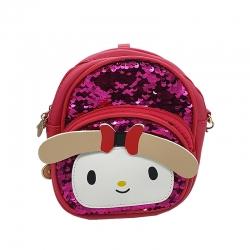 Littledesire Travel Sequins Glitter Shoulder kids Backpack - 7 inch