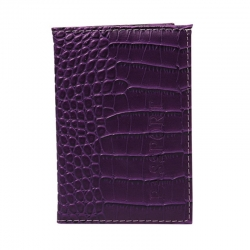 Littledesire Alligator Pattern Indian Travel passport Cover