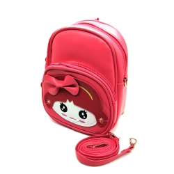Cute Cartoon Bow Style Mini Backpack for Girls-7 inch