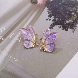 So Cute Butterfly Design Stud Earrings