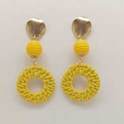 Gold Plated Fashion Drop Earring