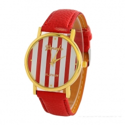 Geneva Woman Red Watch