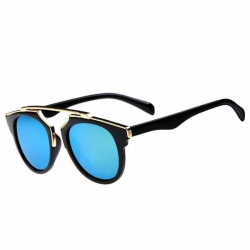 Vintage Style Round Frame Cat Eye Eyewear