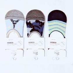 Unisex Loafer Cotton Men Women Socks - 3 Pairs