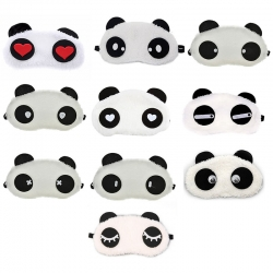 Birthday Return Gift Cute Panda Eye Mask 10 Pcs Lot