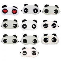 Birthday Return Gift Cute Panda Eye Mask 10 Pcs Lot