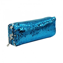 Littledesire Double Color Sequins Pencil Box - 8 inch