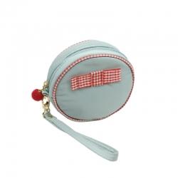 Littledesire Cute Round Shape Cosmetic Zipper Mini Bag