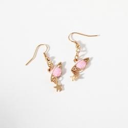 Littledesire  Lovely Pink Universe Planet Star Stud Earrings