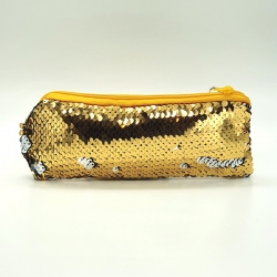 Littledesire Double Color Sequins Small Pencil Box - 7 inch