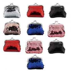 Birthday Party Return Gifts Sequins Handy Clutch Mini Bag 10 Pcs Random color
