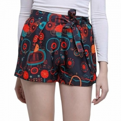 Littledesire Printed Regular Fit Women Shorts