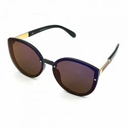 Cateye Vintage Style Flat Lens Women Sunglasses