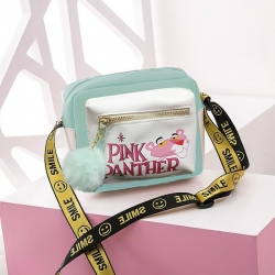 Pink Panther Pu Leather Shoulder Messenger Bag