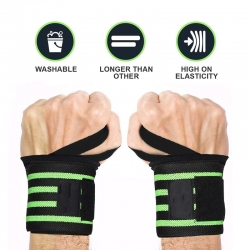 Wrist Wraps Professional Grade with Thumb Loops Wrist Support for Men & Women