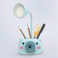Camera Table lamp Pencil & Mobile Stand & Pencil Sharpener