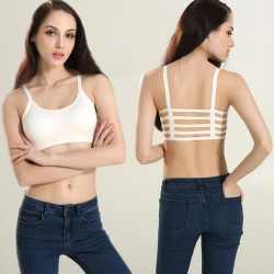 Women Back Stripes Bra