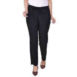 Littledesire Women Cotton Slub Best Stylish Solid Trouser