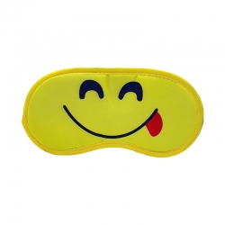 Littledesire Printed Smile Sleeping Eye Mask