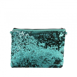 Fashion Sequins Glitter Crossbody Sling Bag - 9 Inch