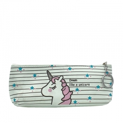 Printed Unicorn waterproof Pouch Bag With Key Ring