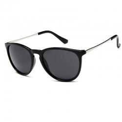 Littledesire Retro Round Alloy Mirror Unisex Sunglasses