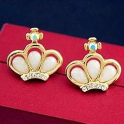 Littledesire Latest Queen Drop Stone Earrings