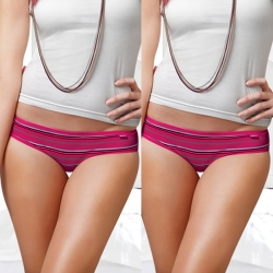 Dixcy Candy Stripes Low Waist Panty Pack of 2