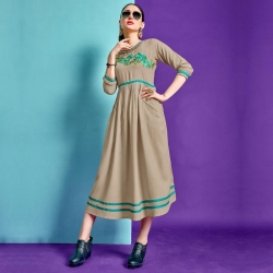 Littledesire Latest Stylish Embroidered Dress