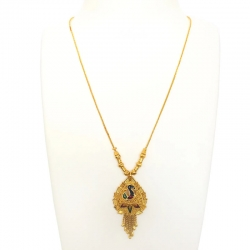 Stylish Trendy Peacock Gold Plated Necklace