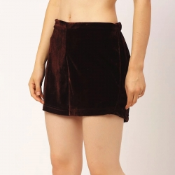 Soft Velvet Shorts for Women