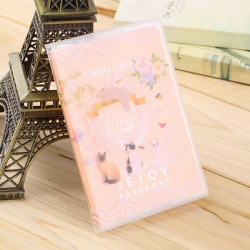 Travel Utility Simple Passport or ID Card Cover Holder ( cat )