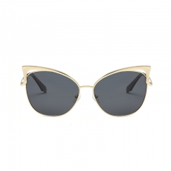 Cat Eye Retro Metal Sunglasses