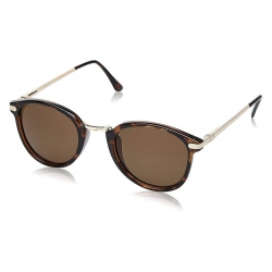 Littledesire Round Shape Sunglass with Free Case Cover
